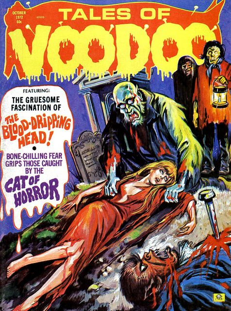 Tales of Voodoo Vol. 5 #6 (Eerie Publications 1972) by Aeron Alfrey, via Flickr