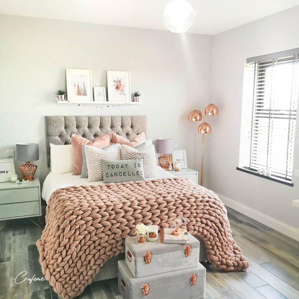 75+ Awesome Gray Bedroom Ideas will Inspire You