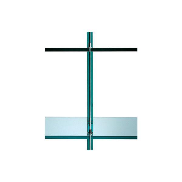 Fontana Arte Teso Console (€7.000) ❤ liked on Polyvore featuring home, furniture, storage & shelves, chrome furniture, shelving furniture, shelf furniture, chrome shelves and shelves furniture