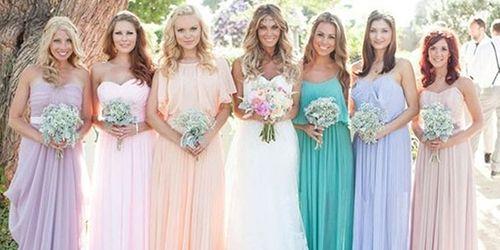 3843aae418c Альтернатива классике. Свадебное платье в пастельных тонах