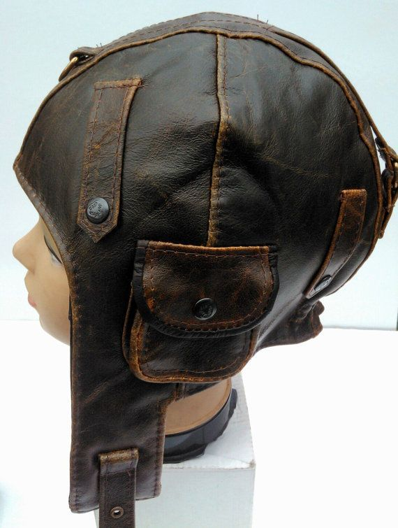 leather aviator hat and goggles - Google Search  845fb792e06