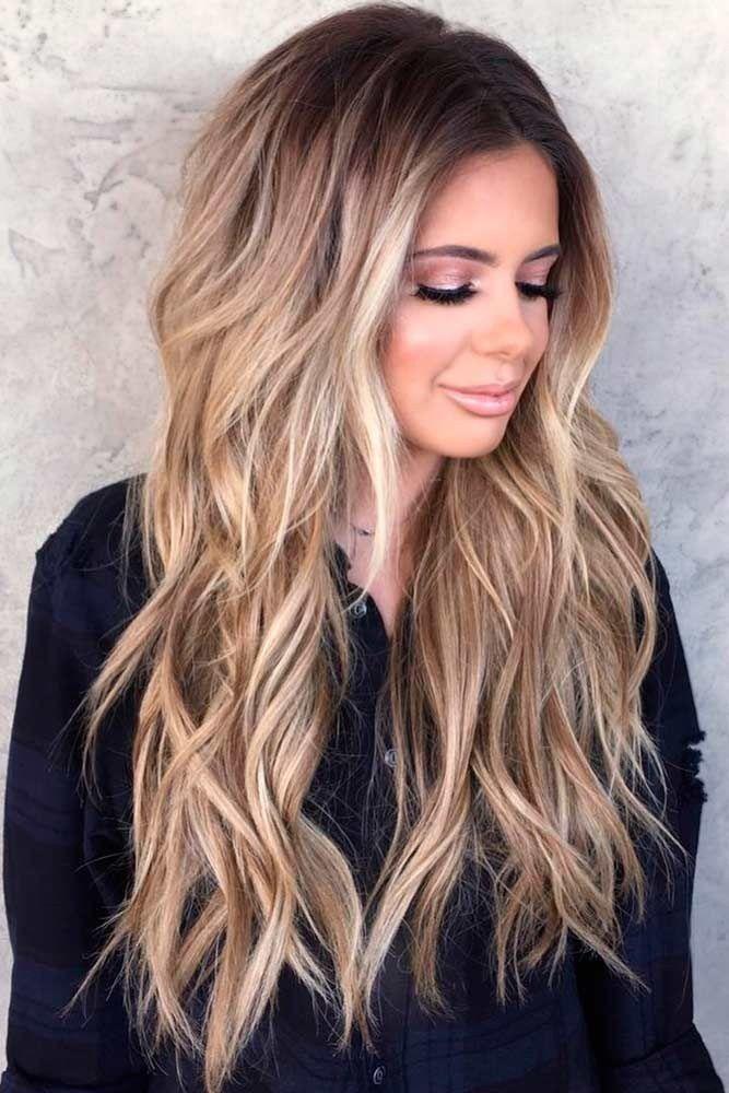 Long Hairstyles Classy Long Layered Hairstyle Medium Long Layered
