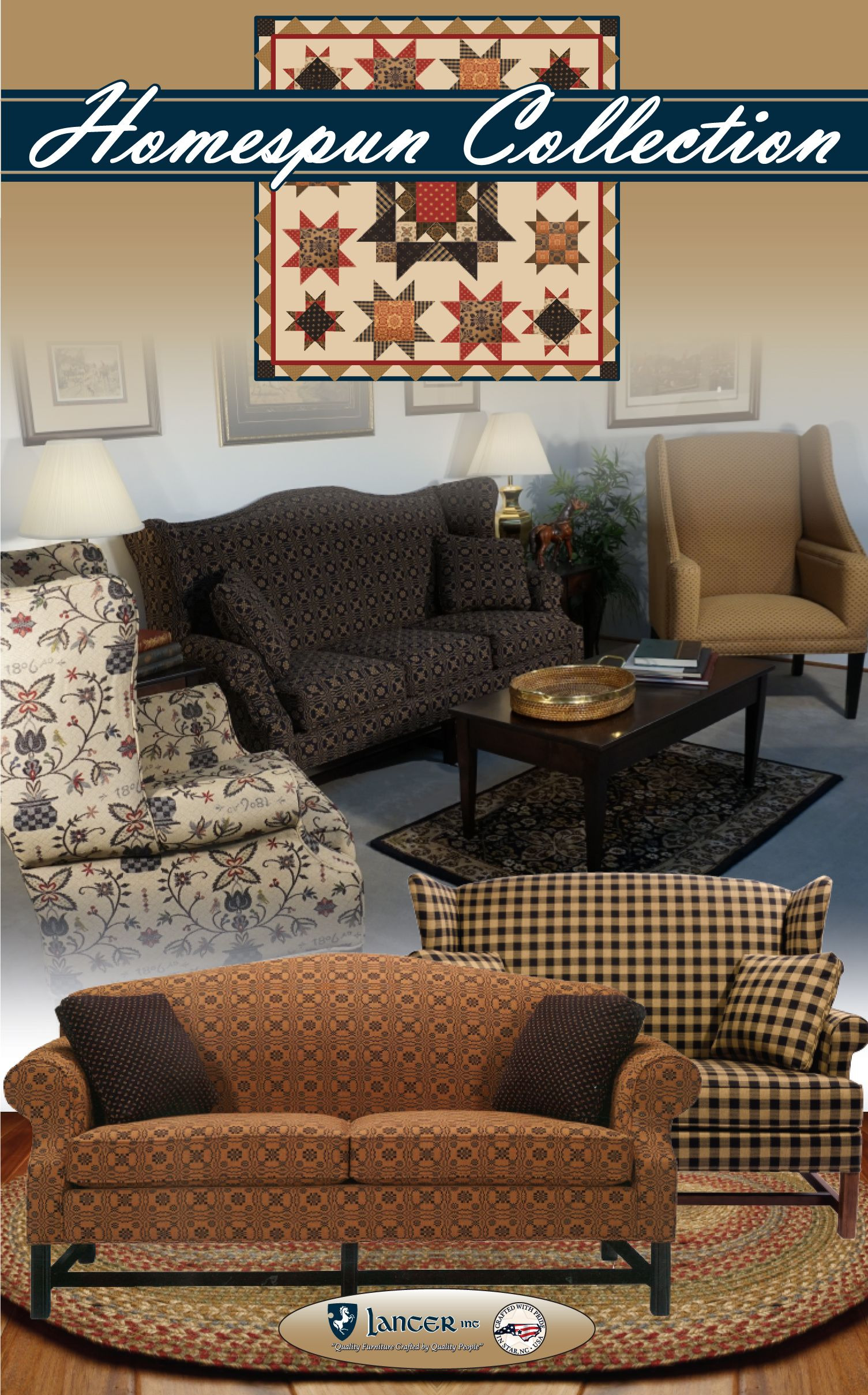 Carolina Country Furniture Crescent Series would look great in