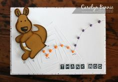 Cookie Cutter Kangaroo - Carolyn Bennie - Australian Independent Stampin' Up! Demonstrator - carolynbennie.com
