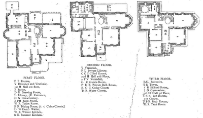 Village Green Preservation Society Gray Towers Part Two Victorian House Plans Castle House Plans Castle Floor Plan