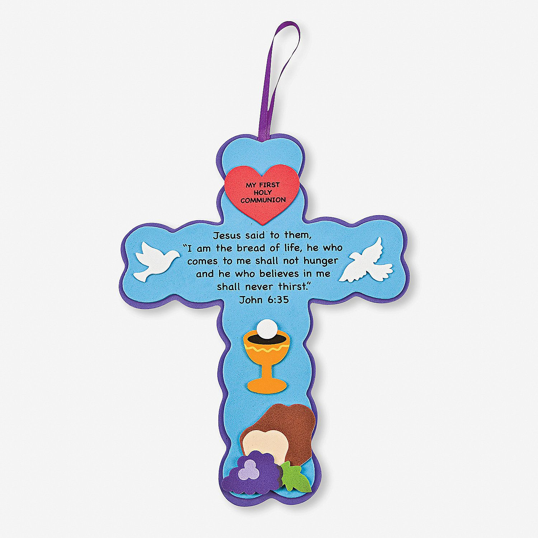 First Communion Cross Sign Craft Kit