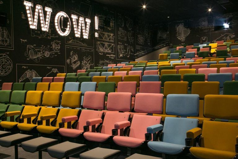 New Boutique Cinema Bar Opens In Zagreb Croatia Week Cinema Design Cinema Hotels For Kids