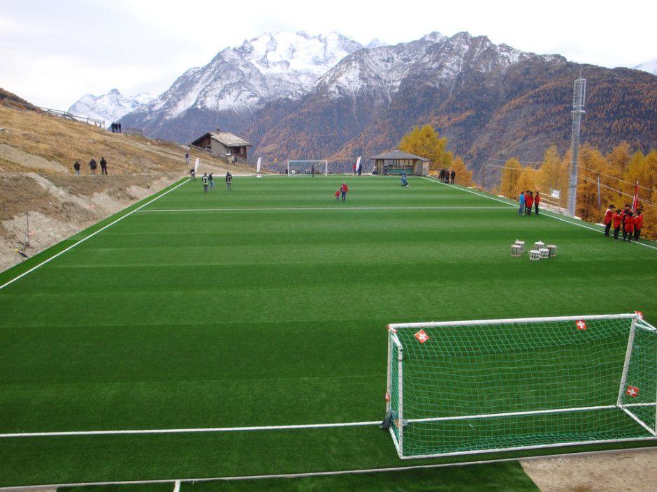 Ottmar Hitzfeld Stadium Switzerland Photo By Andy Abgottspon Via Flickr Football Pitch Football Stadiums Sports Stadium