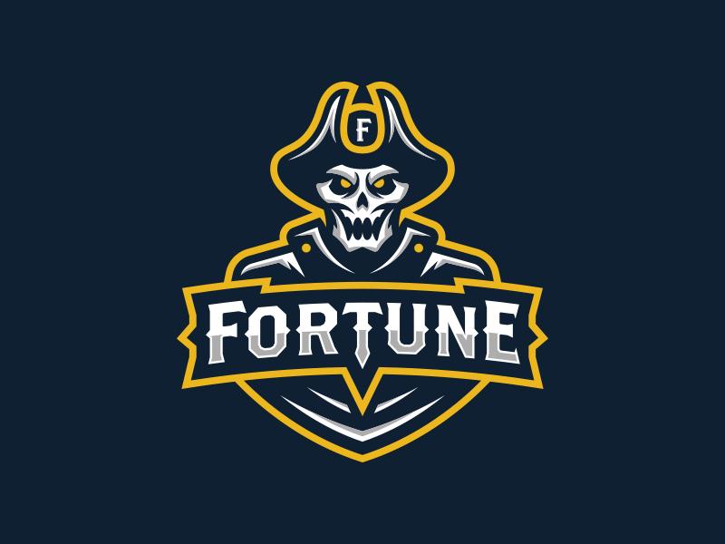 Fortune Sports Logo Design Logo Design Art Game Logo Design