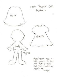 photo regarding Free Printable Felt Doll Patterns identify felt doll styles printable - Google Glance Felt dolls