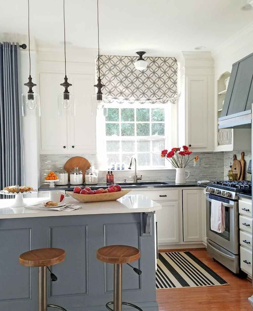 70 Best Farmhouse Kitchen Curtains Decor Ideas Di 2020 Dengan Gambar
