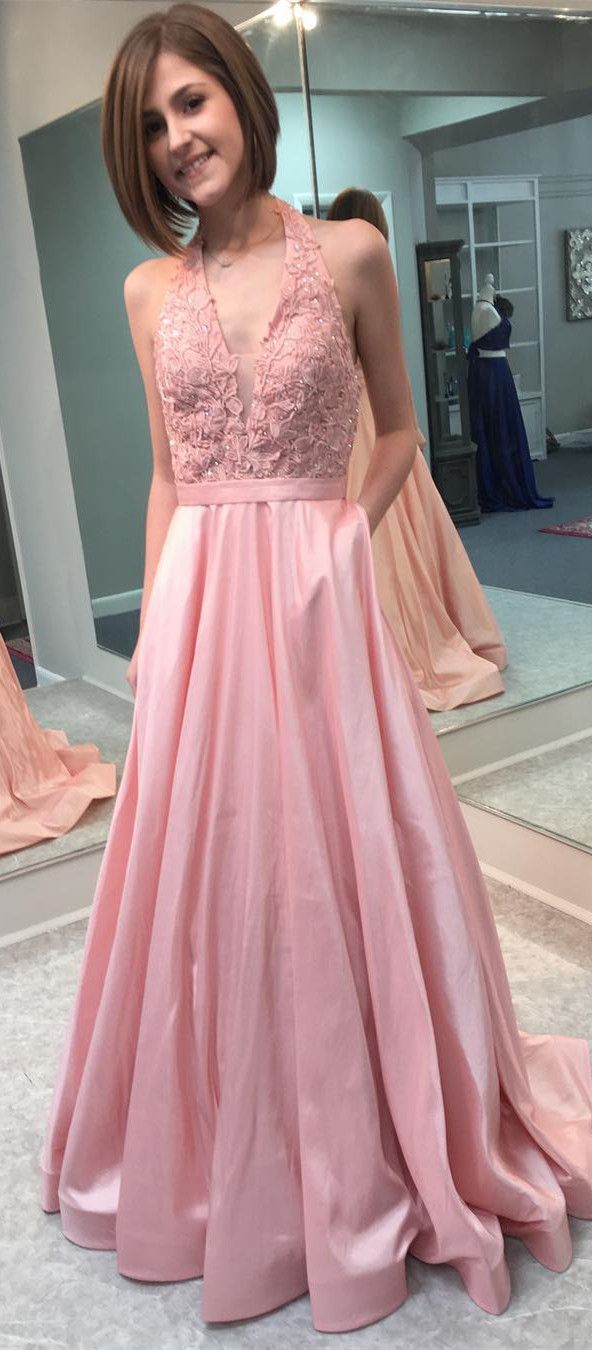 gorgeous prom dresses, long prom dresses, pink prom dresses, 2018 ...