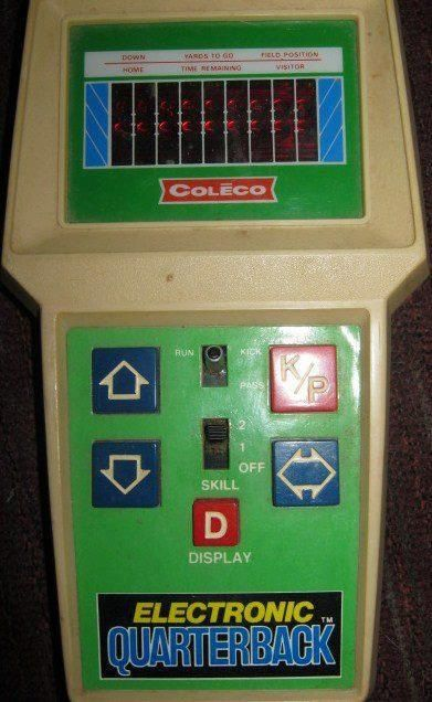 Handheld Electronic Football Game Old School Blast From The Past