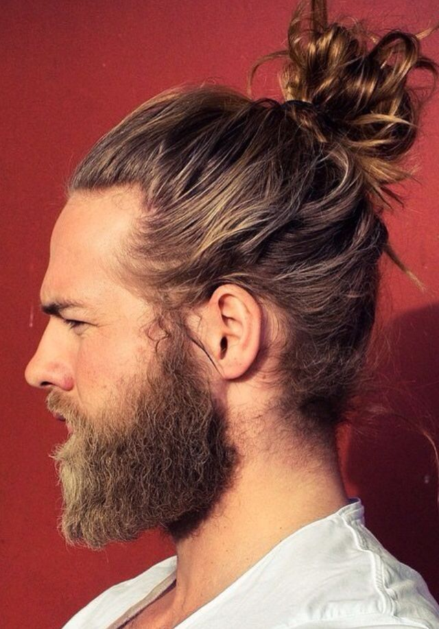 Corte Hipster Hombre Largo
