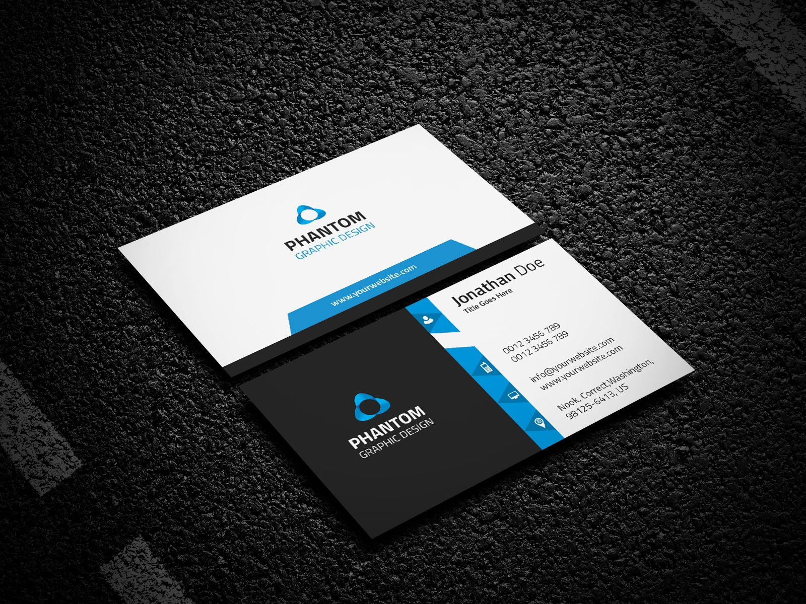 Creative Business Card Template | Card templates, Business cards and ...