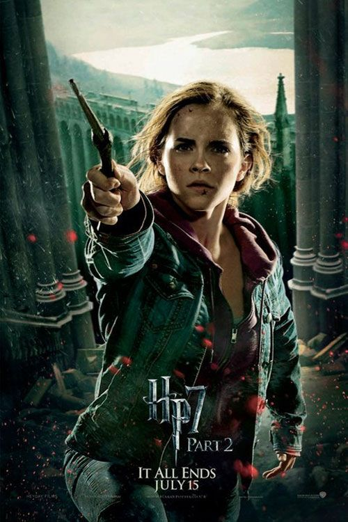New Harry Potter Deathly Hallows Action Posters Fandango Harry Potter Poster Harry Potter Hermione Harry Potter Universal
