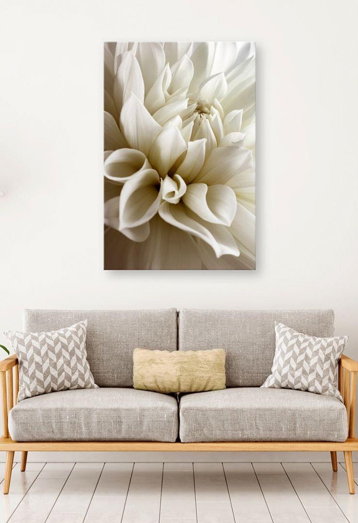 Obraz Na Sciane Z Motywem Gustownej Dalii Obrazy Z Kwiatami Obrazy Jednoczesciowe Fotografie Na Plotnie To Wszy Decorating Your Home Dahlia Canvas Prints