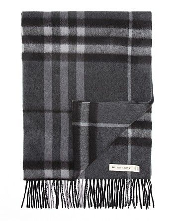 e0d44250777c9 Burberry Giant Icon Check Cashmere Scarf | Bloomingdale's | Men's ...