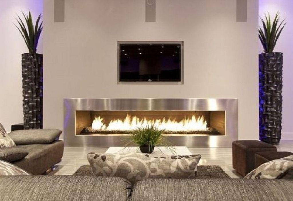 35 Stunning Modern Living Room Design With Fireplaces Teracee Living Room Design Modern Fireplace Design Modern Fireplace