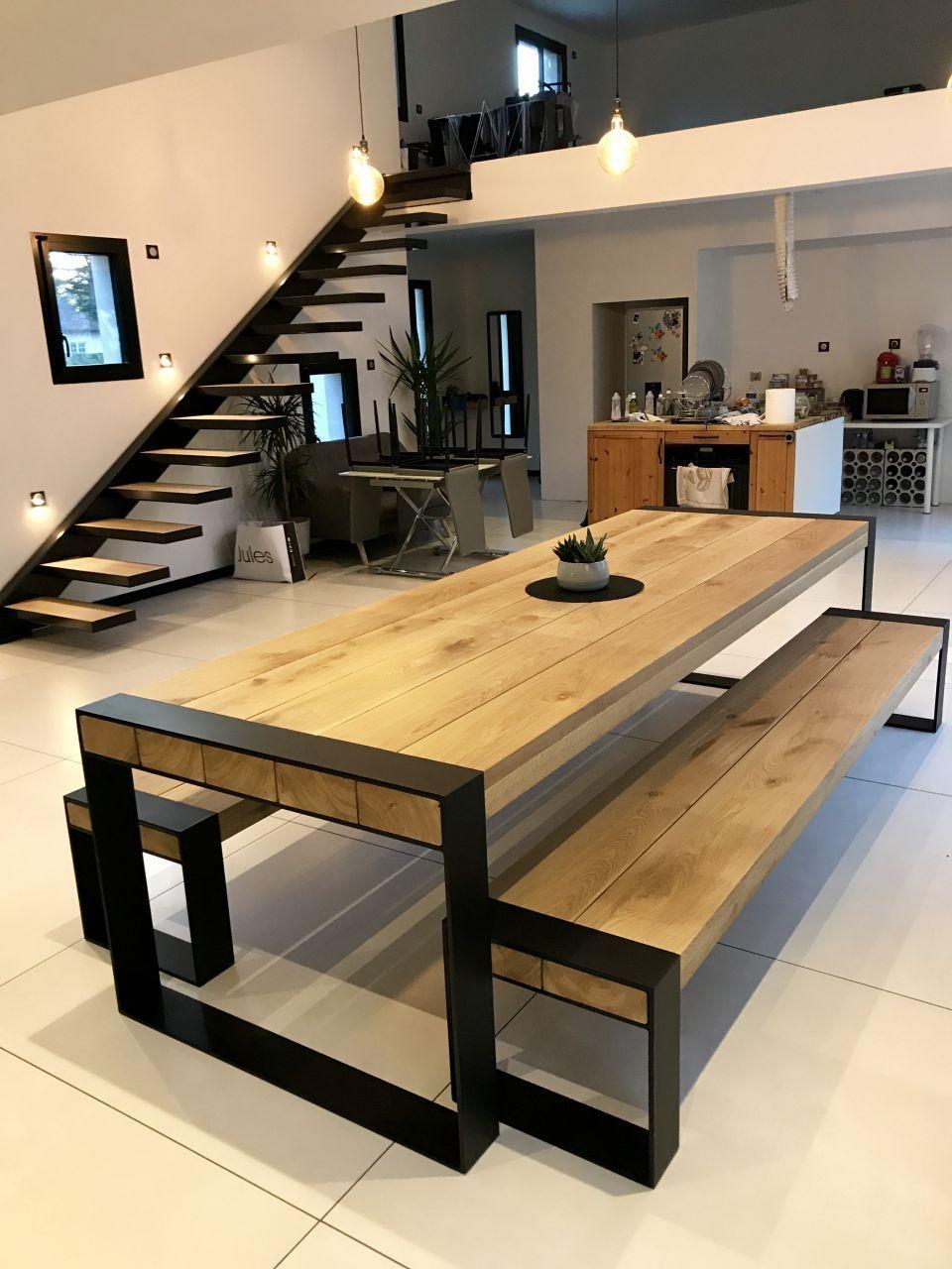 Des Idees Pour Votre Interieur Concept Bois Metal Vous Accompagne Mobilier Maison Amenagement Interieur Maison Deco Maison