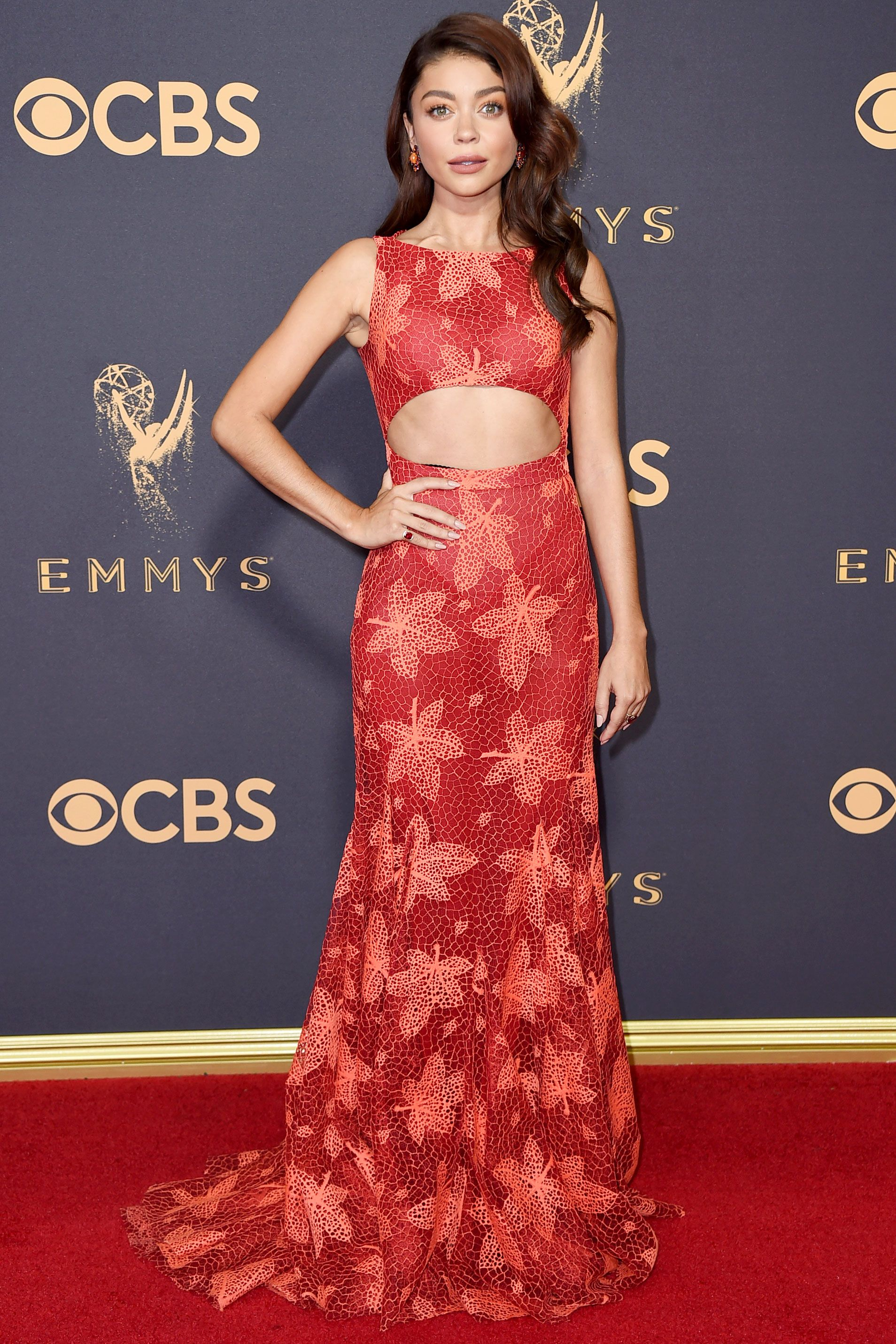 See all the stars on the emmys red carpet red carpet looks