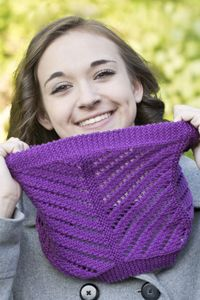 Floridian Cowl, free pattern at Cascade Yarns