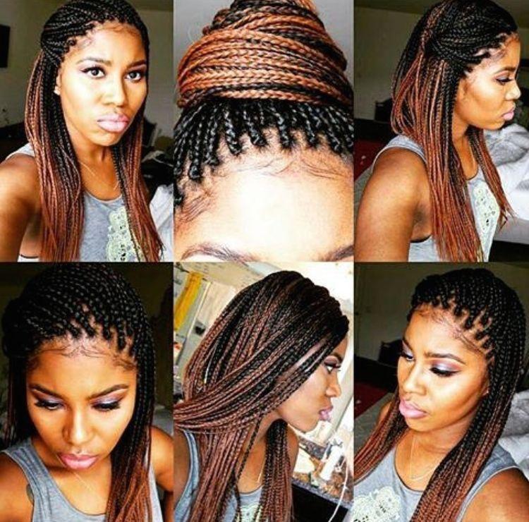 Pin By Cj Reese On Ombre Box Braidsbraiding Hair Pinterest