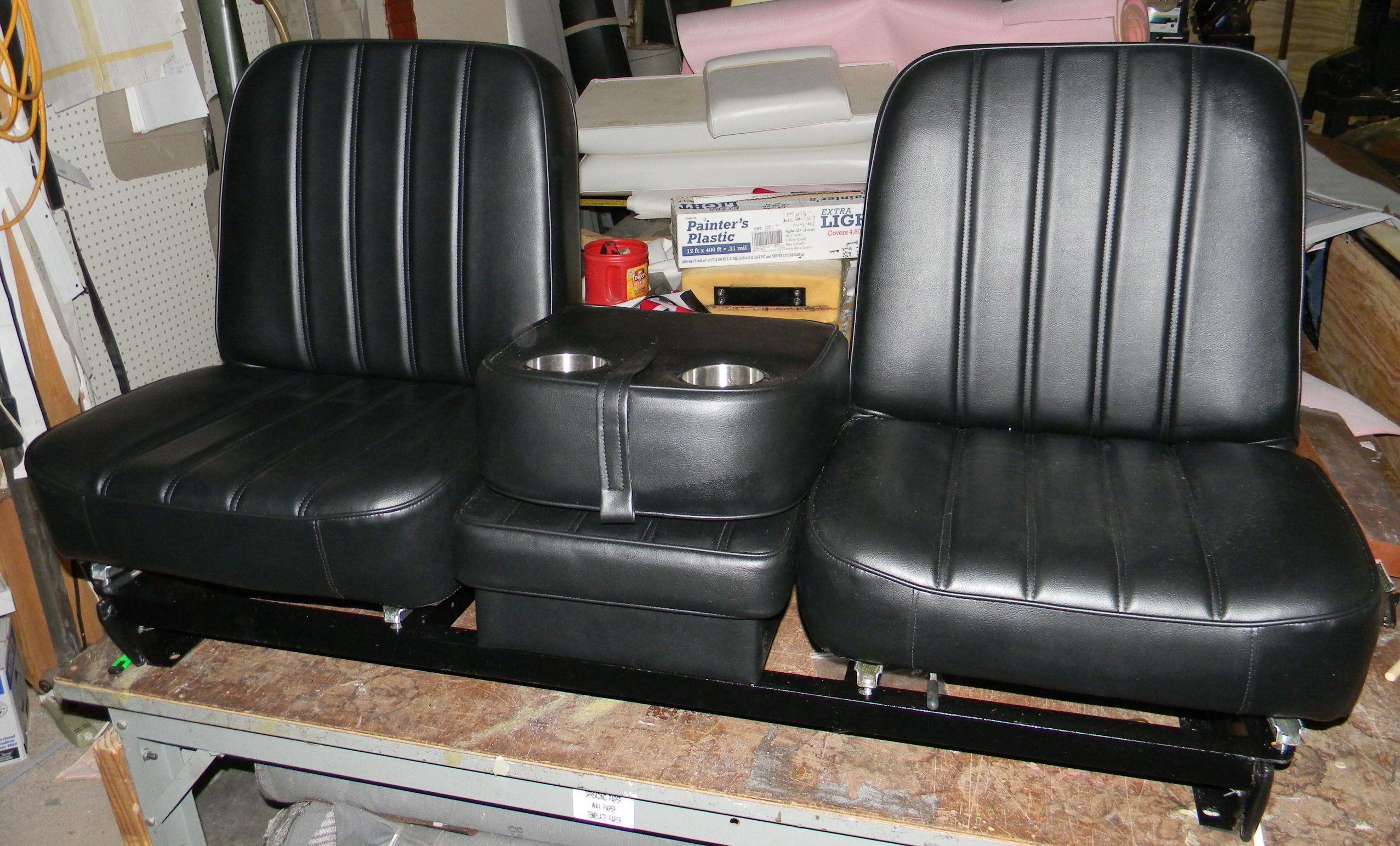 67 68 C10 Truck Buddy Bucket Upholstery Rick S Custom