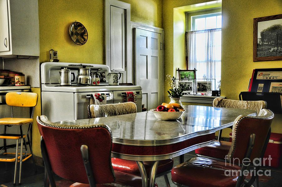 Americana 1950 Kitchen 1950s Retro Kitchen With Images