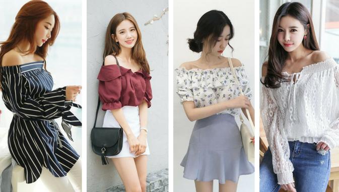 Mau Stylish Ala Cewek Korea Ini Daftar Model Baju Wanita Yang Populer Di Korea Styling Pod Mode Korea Model Baju Wanita Wanita