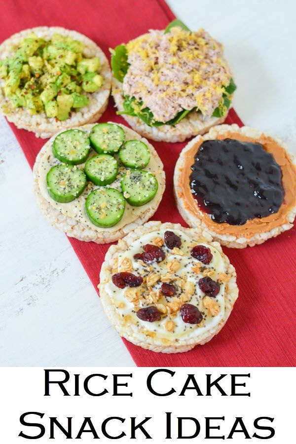 Healthy Rice Cake Topping Ideas Recipe In 2020 With Images