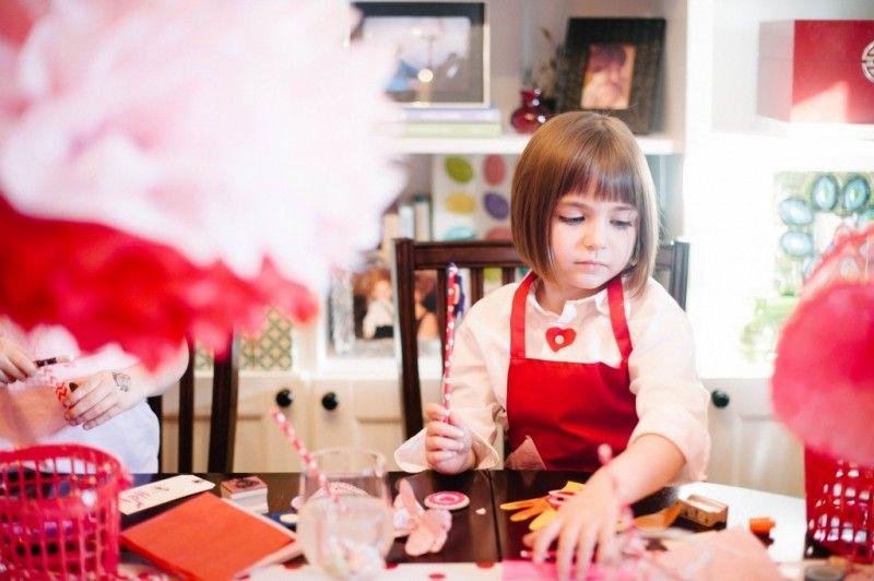 Card Making Party Ideas Part - 29: DIY | Valentine Crafts | Kids Party | Valentine Card-Making Party | Natalie  Bradley