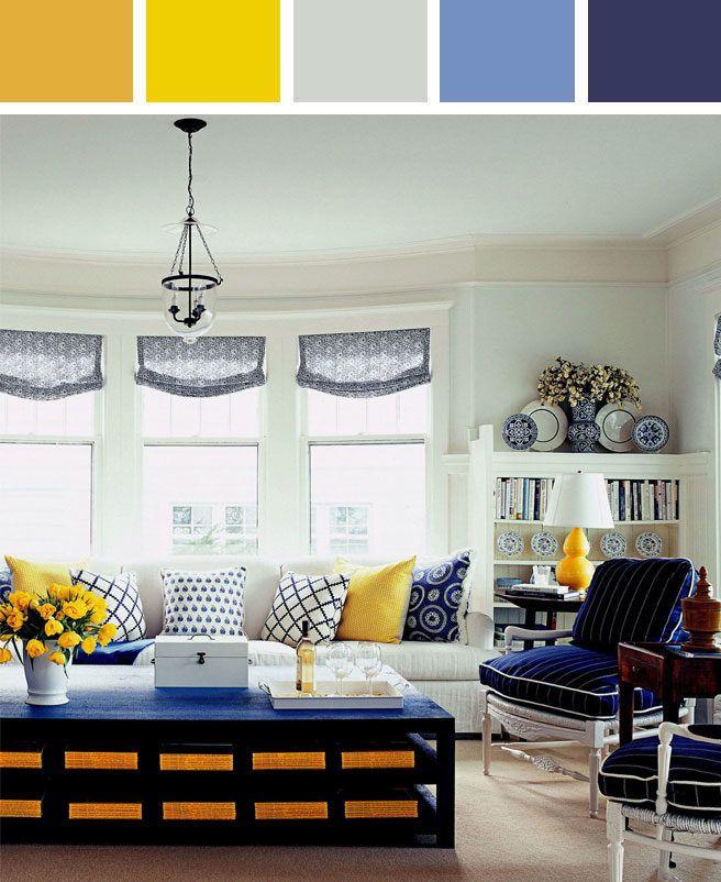 191 C 243 Mo Decorar El Living De Tu Casa Usando El Color Azul
