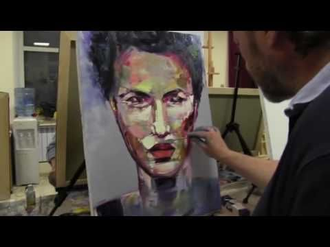 Abstract Acrylic Painting Easy For Beginners Malen Acryl