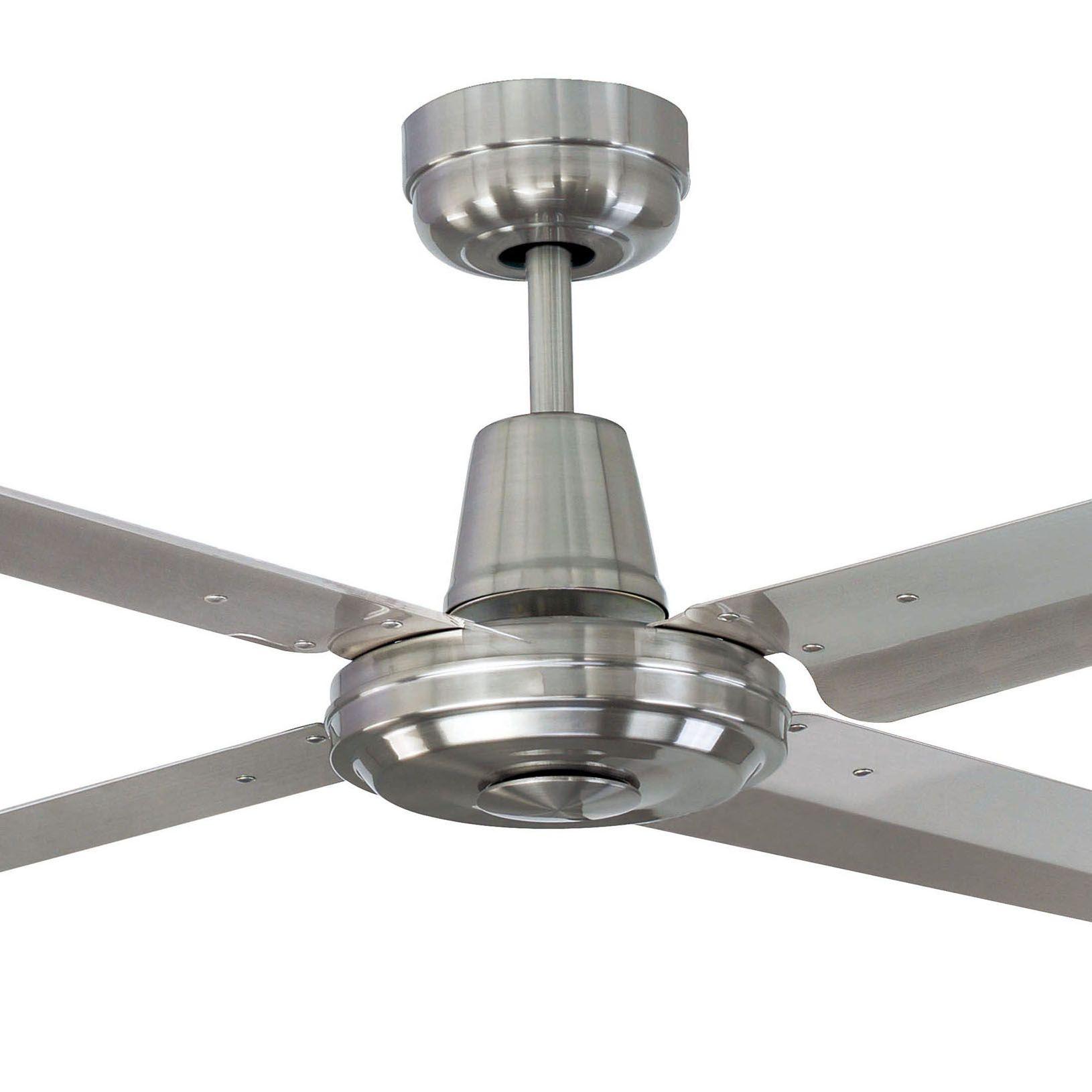 1320mm 52 Swift 316 Marine Grade Stainless Steel 3 Or 4 Blade Metal Ceiling Fan Ceiling Fan Metal Ceiling Ceiling