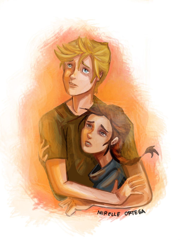Katniss & Peeta - The Hunger Games Fan Art (34461378) - Fanpop