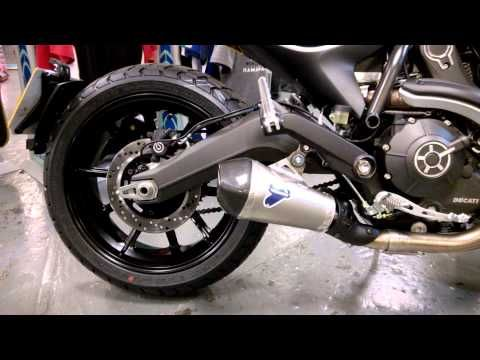 Ducati Scrambler Termignoni Exhaust Sound Youtube I Like This
