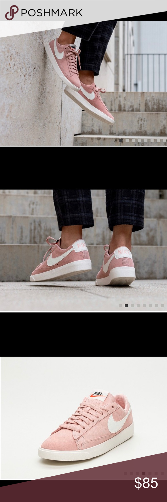 new style e6d6d 9f11f NIKE BLAZER LOW SNEAKERS Nike Wmns Blazer Low SD (Coral Stardust   Sail -  Sail