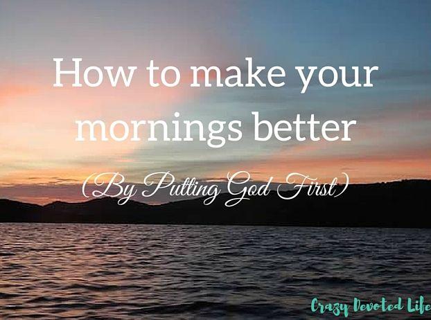 Crazy Devoted Life Faith Blog. Women s Faith. encouragement. Putting God  First 2765d8e894