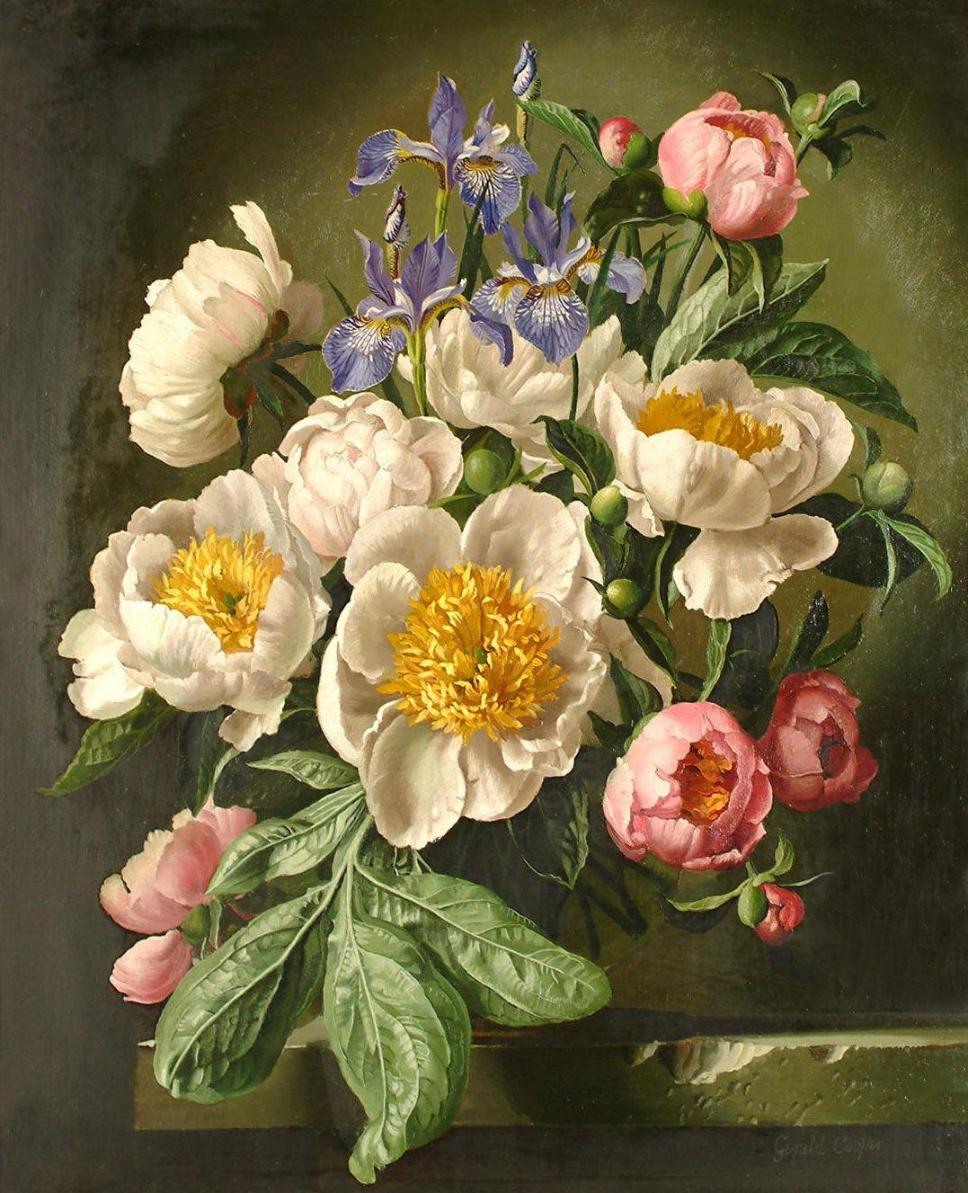 artandthingsofbeauty Oil painting flowers, Flower