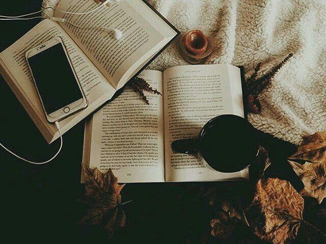 Nos dias frios o que há de melhor para se fazer. Amo ler!