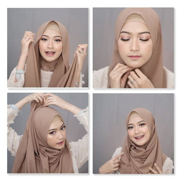 5 Gaya Hijab Menutup Dada Tapi Tetap Kece Dan Nggak Terkesan Tua Cocok Banget Buat Buat Ke Kampus Atau Hang Out Bareng Teman Gaya Hijab Tutorial Hijab Pashmina Hijab
