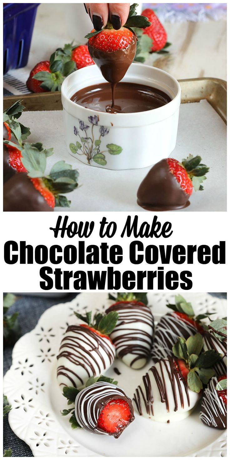 How to Make Chocolate Covered Strawberries The Suburban