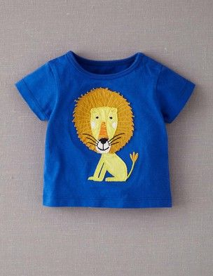 I've spotted this @BodenClothing Big Appliqué T-shirt Lagoon/Lion