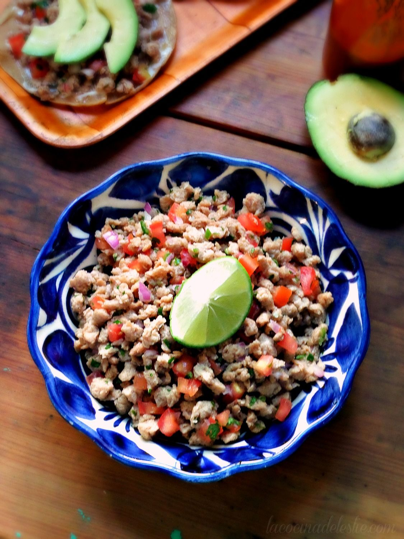 Ceviche De Soya Recipe Soy Protein Recipes Soy Recipes Vegetarian Ceviche