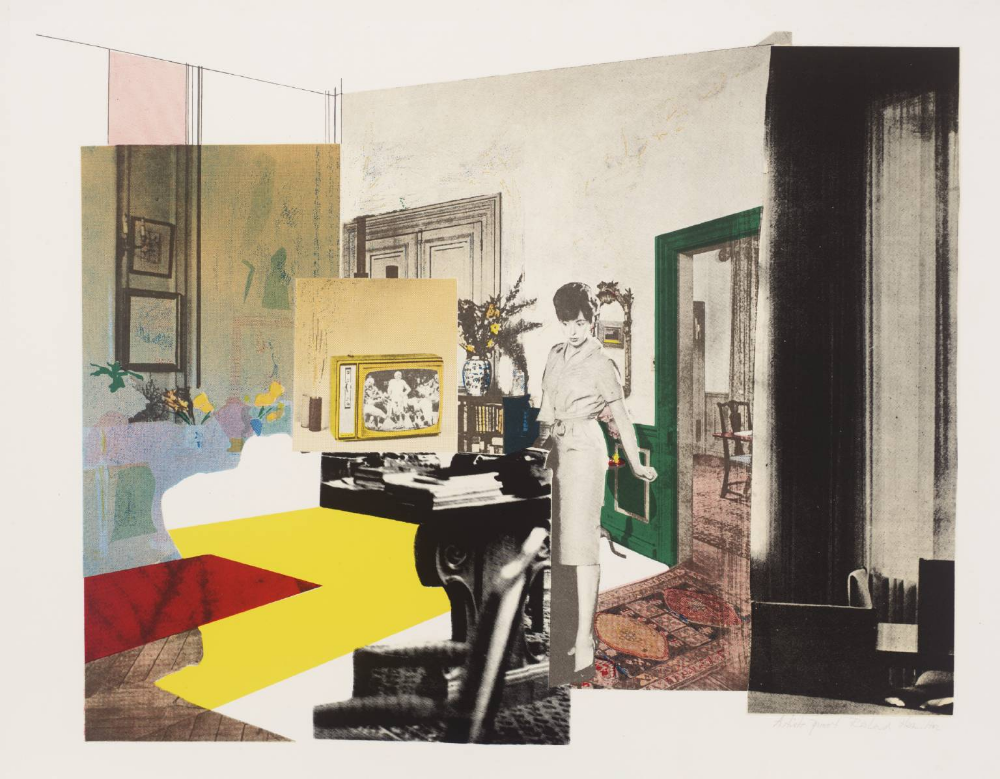 Interior Richard Hamilton 1964 5 Tate Richard Hamilton Pop Art Pop Art Art