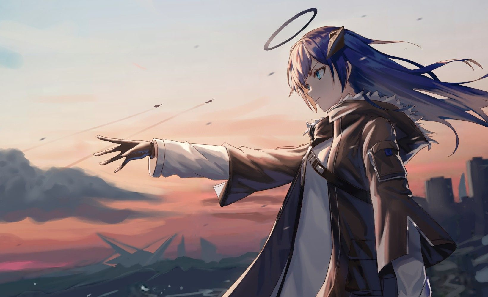 Pin oleh strayblackwolf di アニメゲーム di 2020 Seni anime