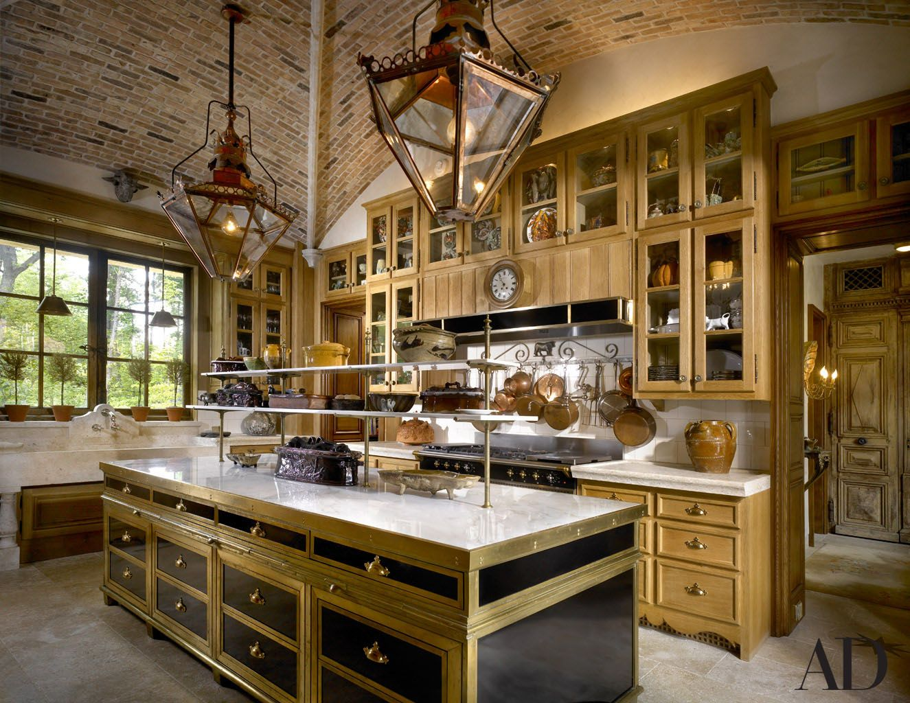 european kitchen inside robin buxbaum s lake forest il home interiors french country on kitchen interior french country id=77777