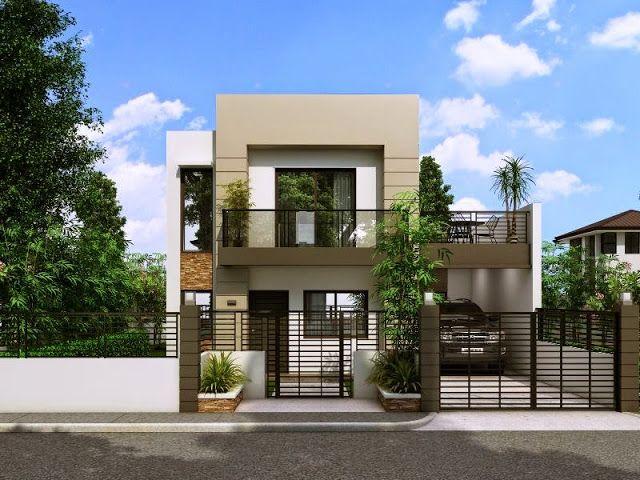 33 Beautiful 2 Storey House Photos Casas Quadradas Fachadas De
