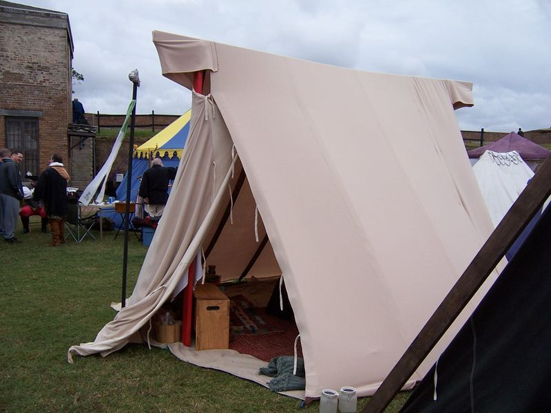 Wool tent debut success! Held up against thunderstorm front